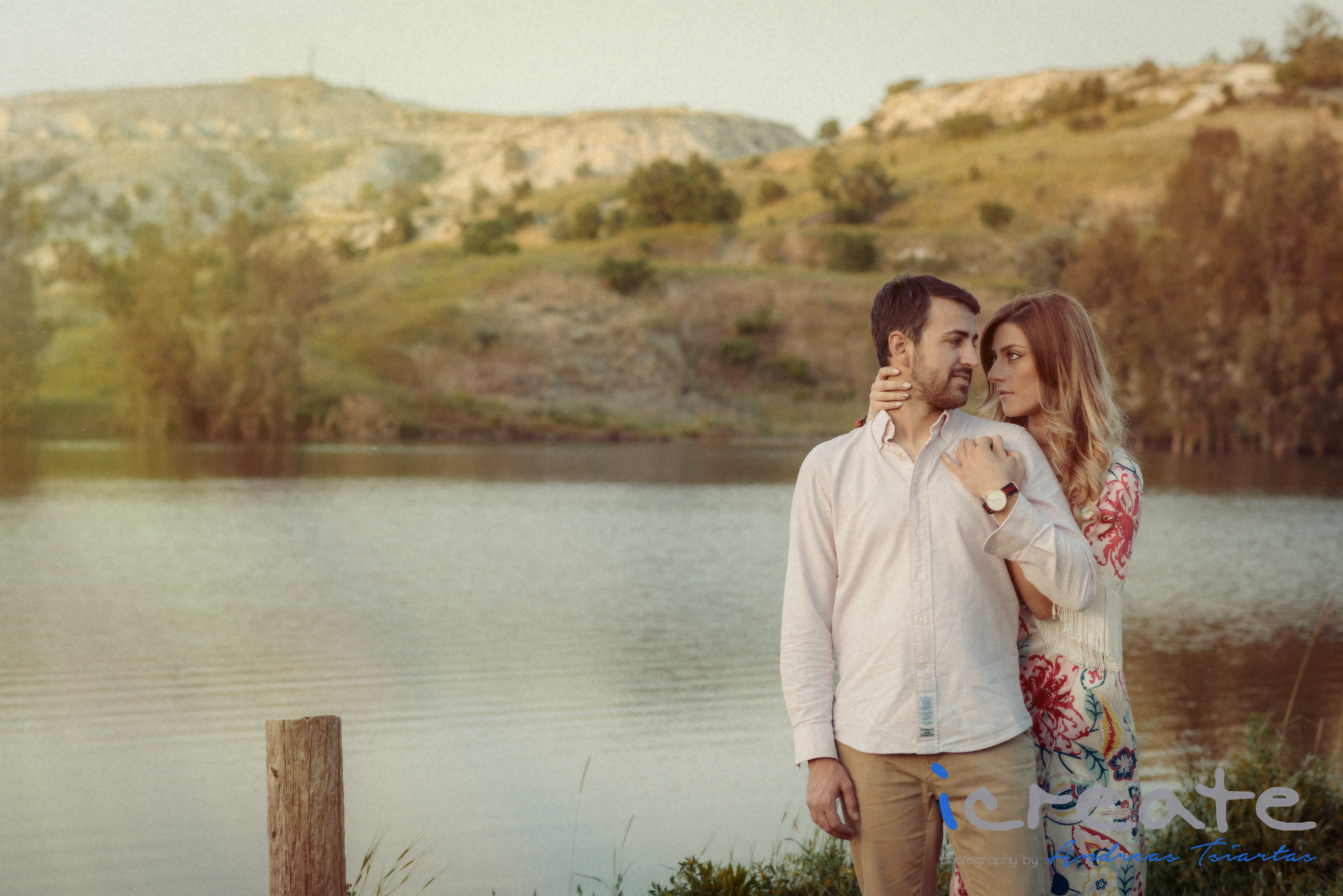 A Pre Wedding Story | an afternoon in nature with Mike and Joan | by iCreate Photography